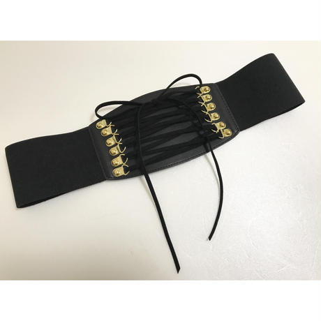lace-up gom belt