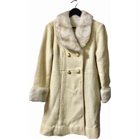 【スペシャルプライス】fur coat off-white