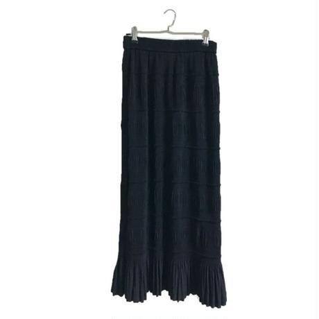 long design pleats skirt