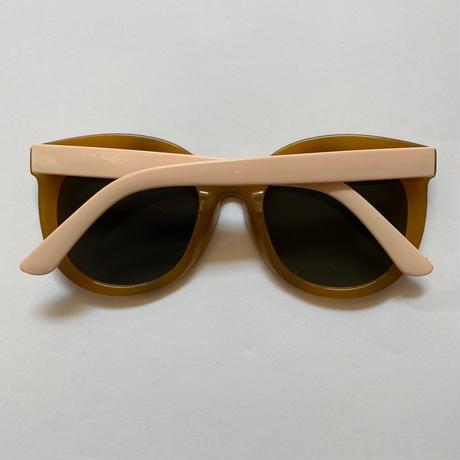 caramel frame sunglasses