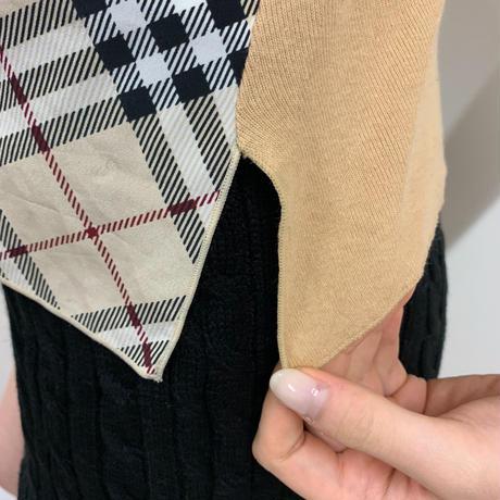 Burberry  check ribbon design tops(No.3280)