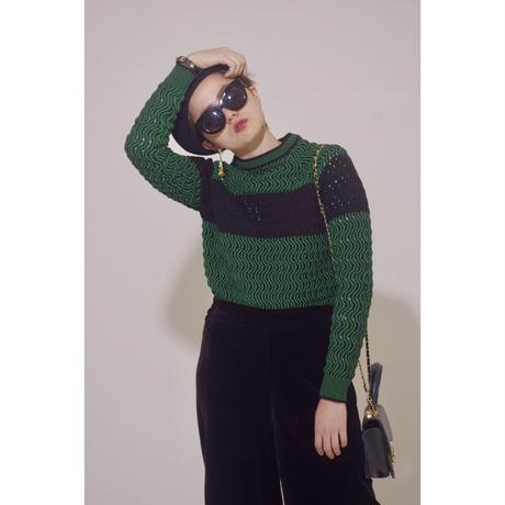 original design knit green