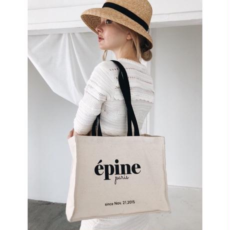 épine shop bag tote ivory