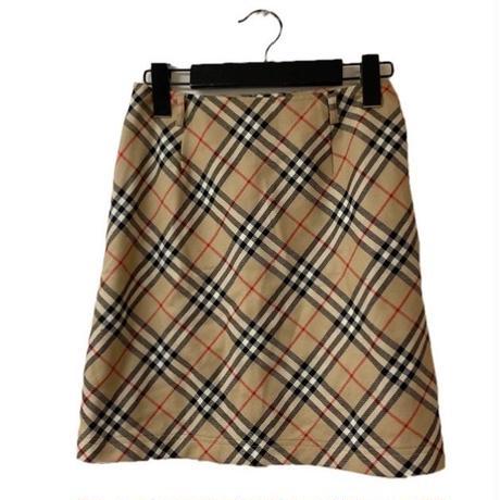 Burberry check design skirt(No.3275)