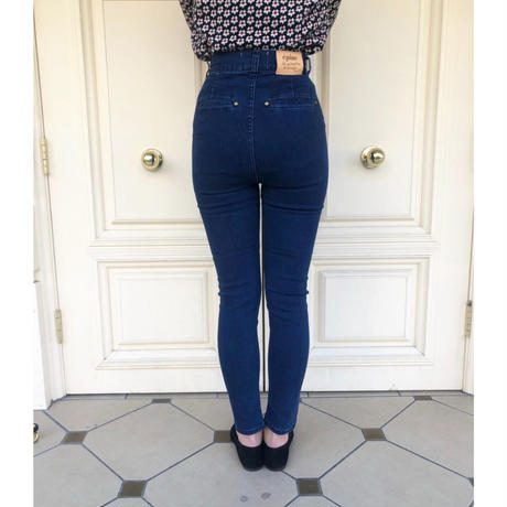 épine skinny denim blue