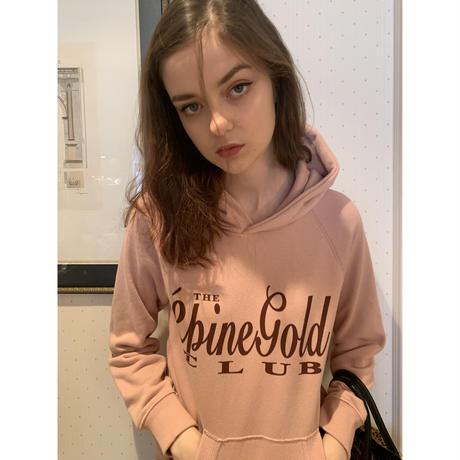 épine gold club hoodie pink beige