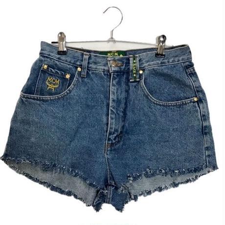 MCM cut off denim short pants