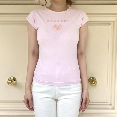 Burberry baby pink tee (No.4370)
