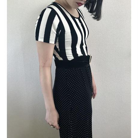 FENDI stripe design tops