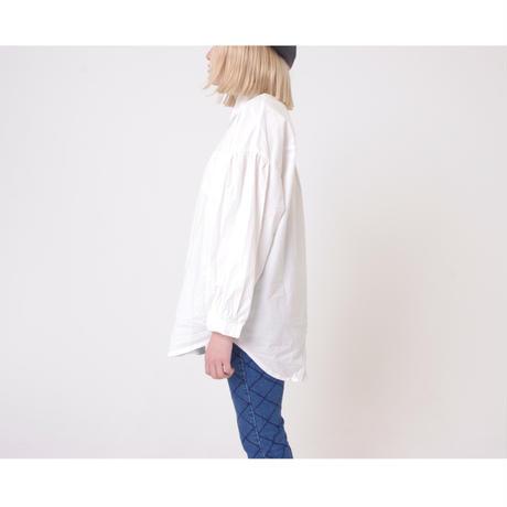 arm volume white shirt
