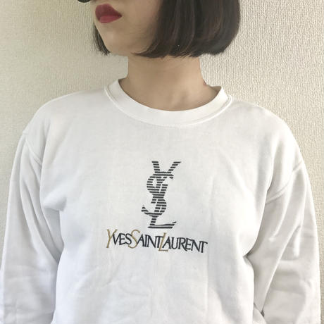 YSL logo design sweat