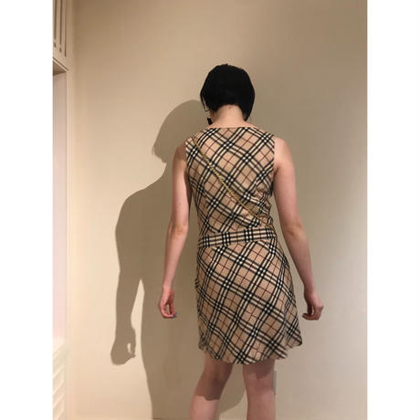 Burberry check design one piece (No.3102)