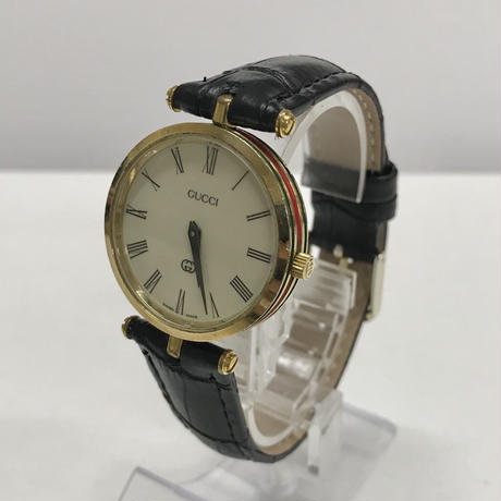 GUCCI sherry line design watch black