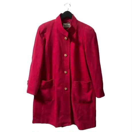 【スペシャルプライス】gold botton design coat pink