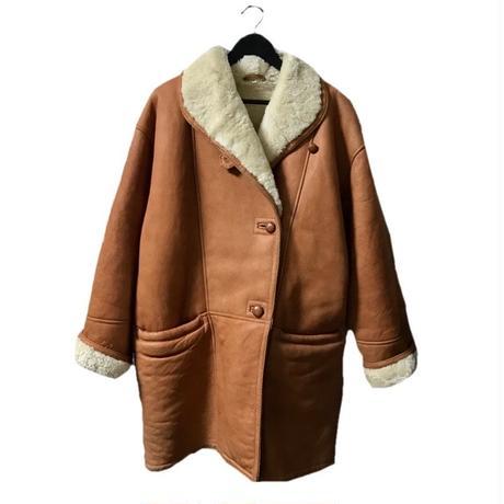 【スペシャルプライス】mouton coat camel