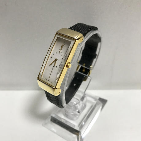 YSL black belt gold Watch