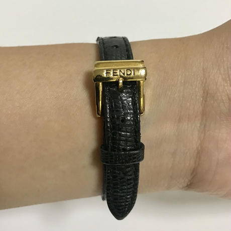 FENDI gold design Watch