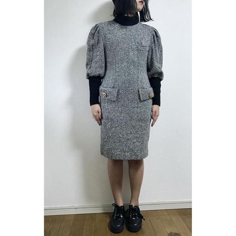 tweed design one-piece