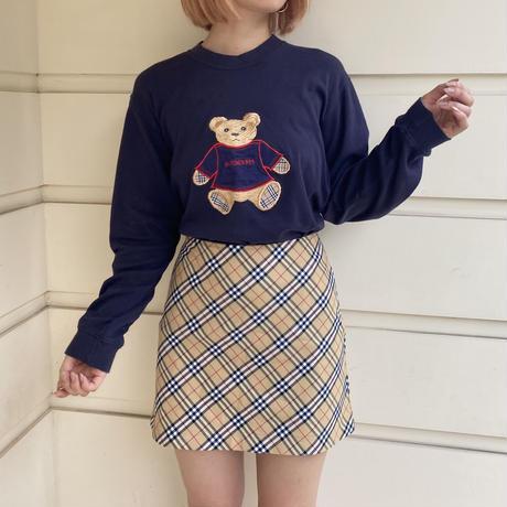 Burberry check mini skirt(No.4526)