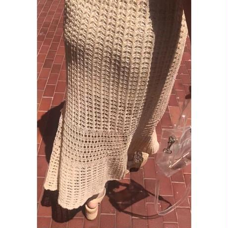 crochet knit one-piece