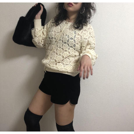 crochet design knit cardigan