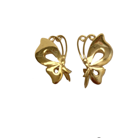 butterfly motif earring(No.4391)