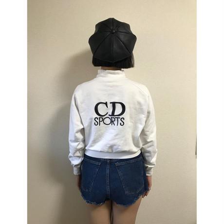 Dior logo sweat white