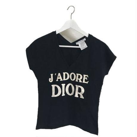 Dior V neck tee