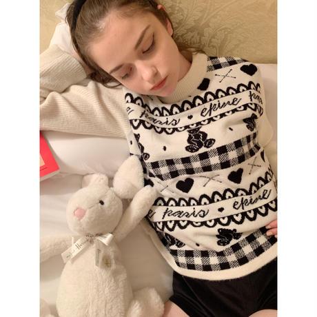épine bear knit