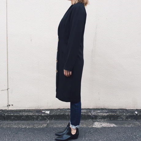 design botton long jacket