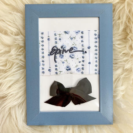 【épine HOME】blue Flower ART