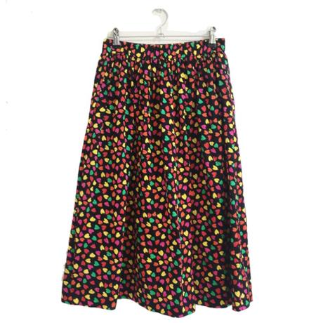 Yves Saint Laurent  heart design skirt