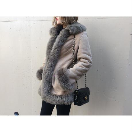 mouton coat mocha