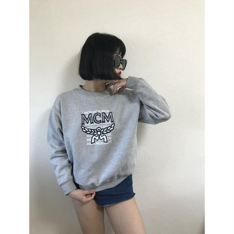 MCM logo sweat gray