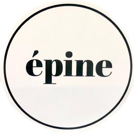 épine round sticker