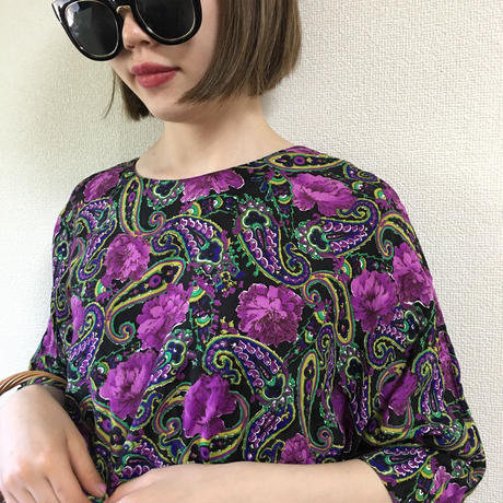 Paisley design rompers