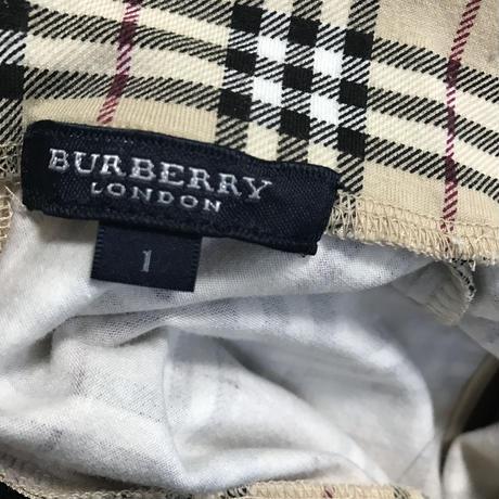 Burberry check tank top