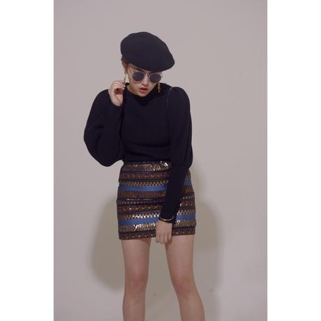 arm volume knit black
