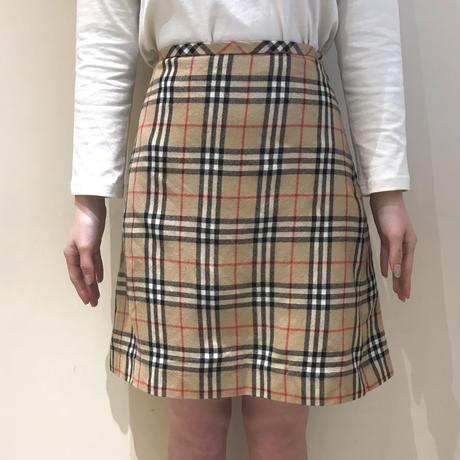 Burberry Check mini skirt(No.A7)