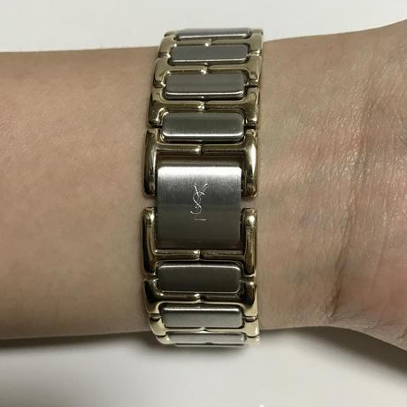 YSL white design Watch