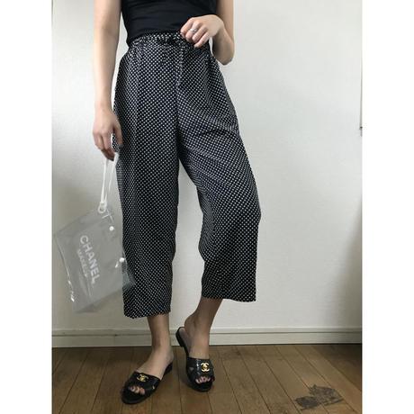 dot wide pants