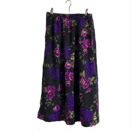 flower design skirt