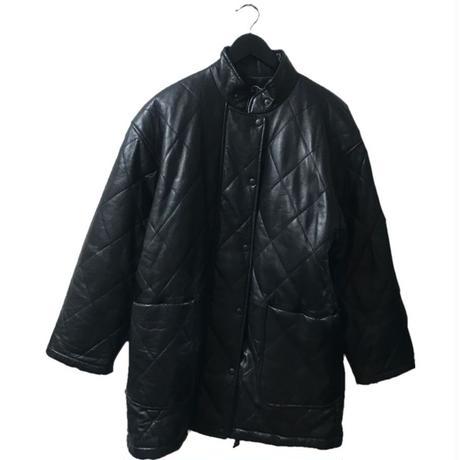 【スペシャルプライス】chloe leather quilting down coat
