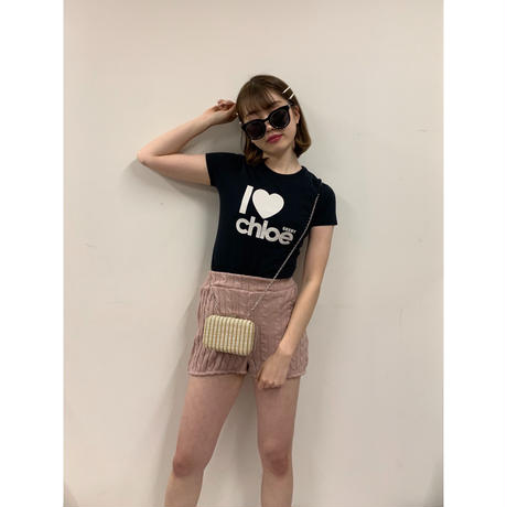 Chloé logo design tee(No.3039)