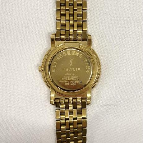 YSL gold design Watch(No.4277)