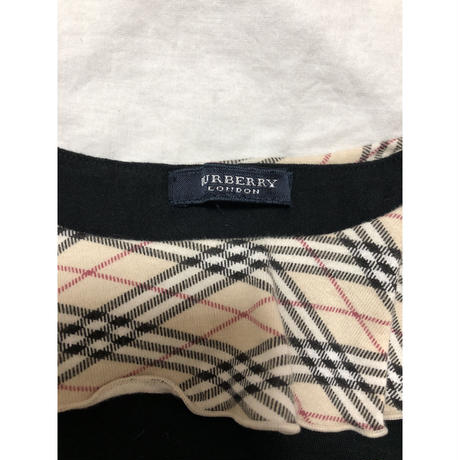 Burberry frill collar tops