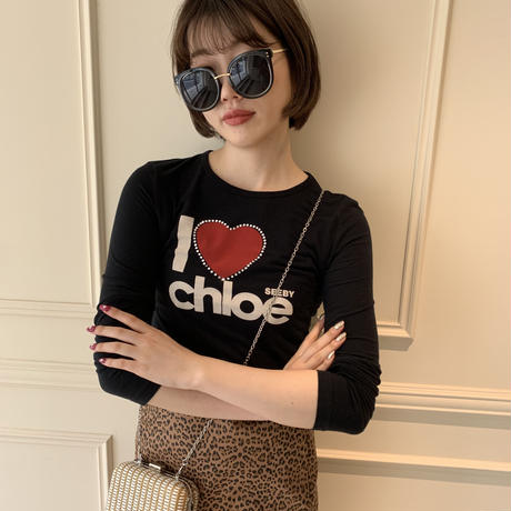 Chloé logo tops (No.3677)