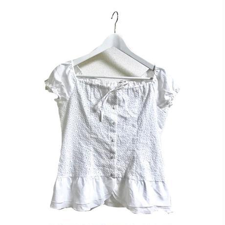 2way frill design blouse
