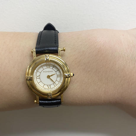 YSL gold flame design Watch(No.4008)