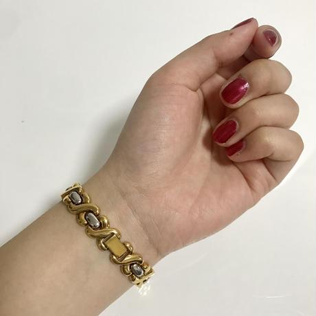 【スペシャルプライス】courreges gold chain watch